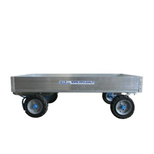 Trailer with double side