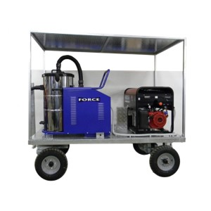Trailer with vacuum PLUS